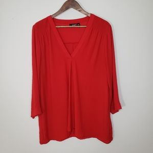 a.n.a A New Approach Red blouse XL